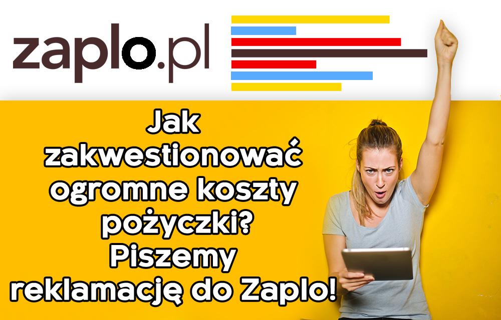reklamacja do Zaplo